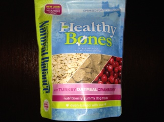 Natural Balance Healthy Bones treats bag