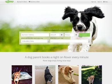 rover.com home page