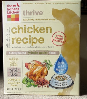 The Honest Kitchen dehydrated chicken food