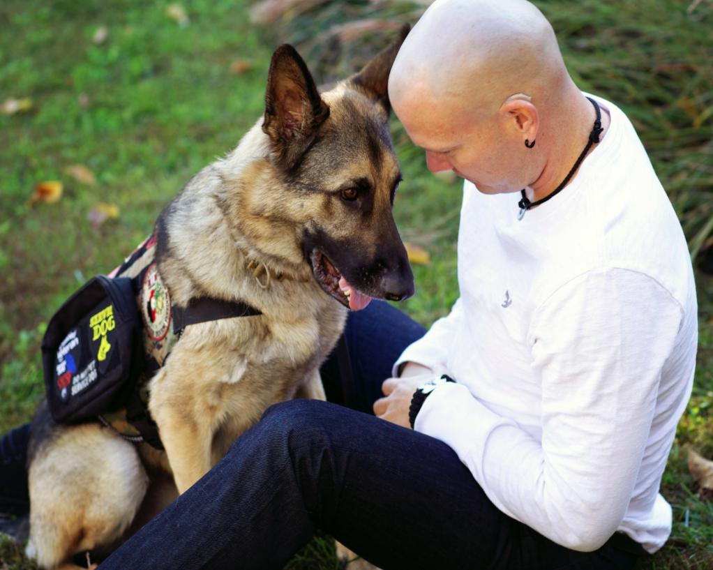 Anxiety Service Dog Training Ohio Military
